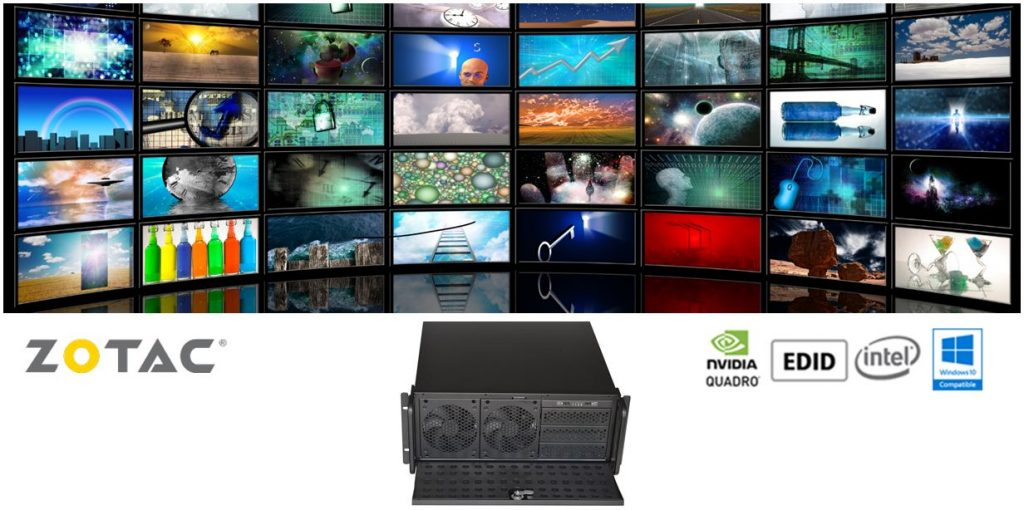 Octek Nvidia Video Wall Solution Supports up to 12 Displays | Octek